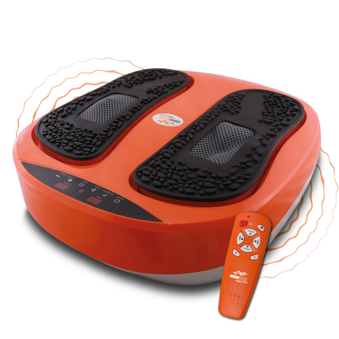 Das Fußmassagegerät bietet eine einzigartige Kombination aus Oszillation und Akupressur – zur Entspannung, Erfrischung und Stärkung müder Füße und Beine.