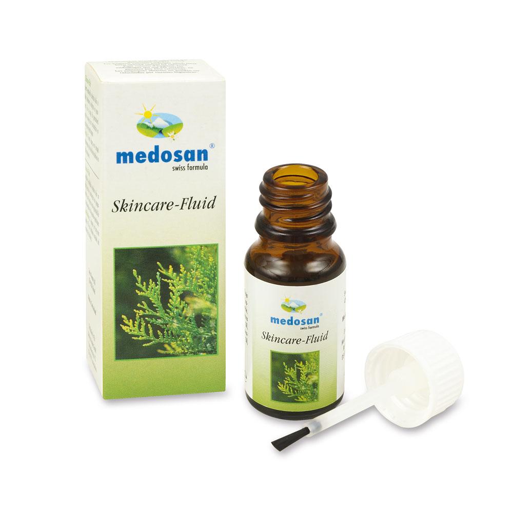 Das Thuja Skincare Fluid wirkt mit wertvollen ätherischen Ölen gegen Stiel- bzw. Alterswarzen.