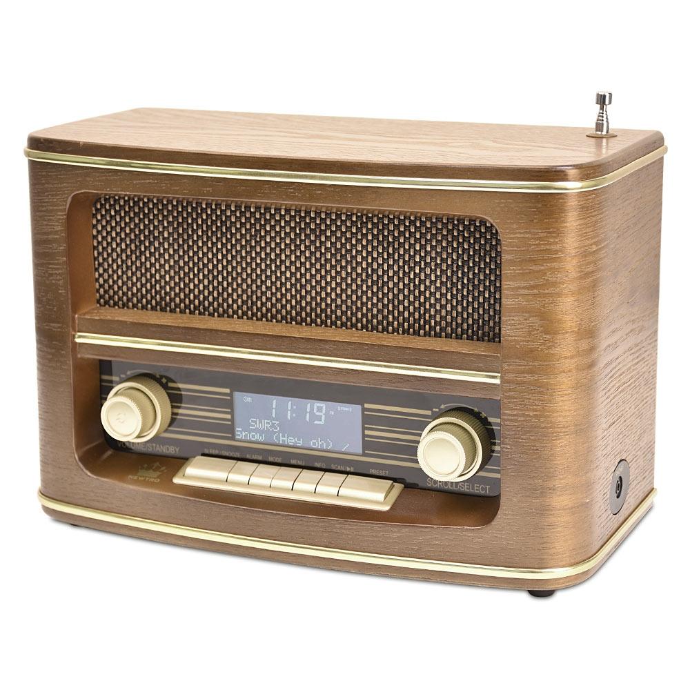 Das Nostalgie-Digitalradio »DABBY« punktet optisch und technisch!