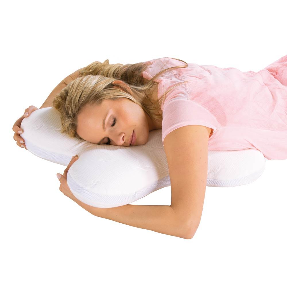 Durch die anatomische Form, auch ideal für Bauchschläfer geeignet.
