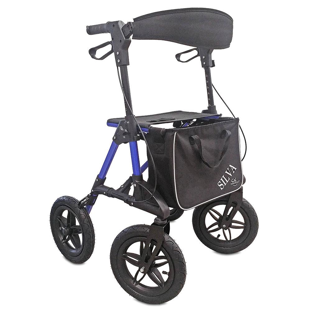 Der Leichtgewichtrollator ist der wendige und leicht lenkbare Begleiter auf allen Wegen.