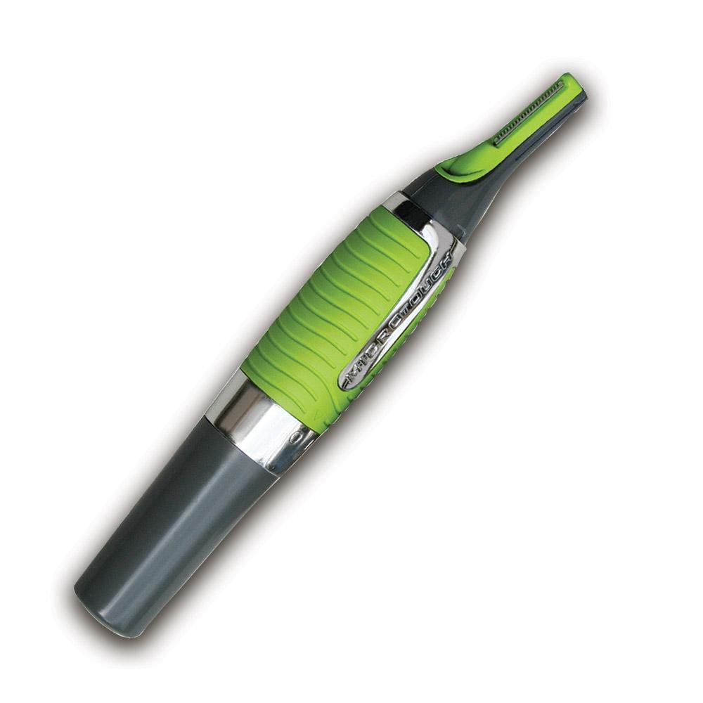 Der handliche Haartrimmer »Micro Touch Maxx« besitzt einen rutschfesten Griff und ein praktisches LED-Licht für die komfortable Anwendung.