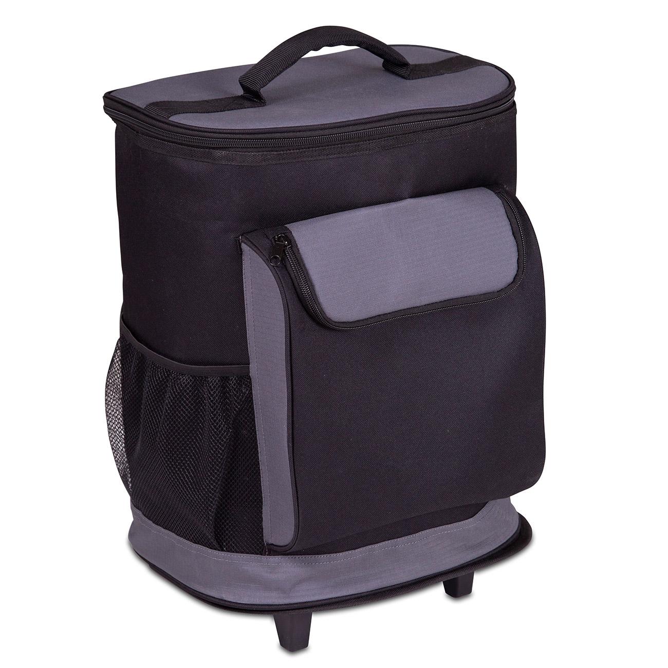 Transportieren Sie mit dem Rucksack-Trolley 2in1 »Cool« kühlbedürftige Lebensmittel komfortabel und sicher.