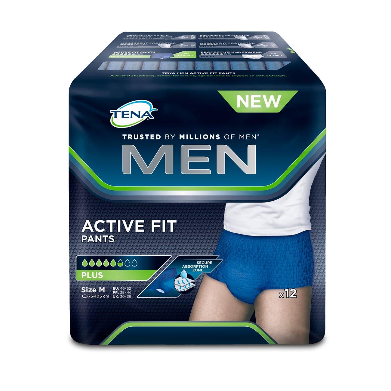 TENA MEN Active Fit, Gr.M