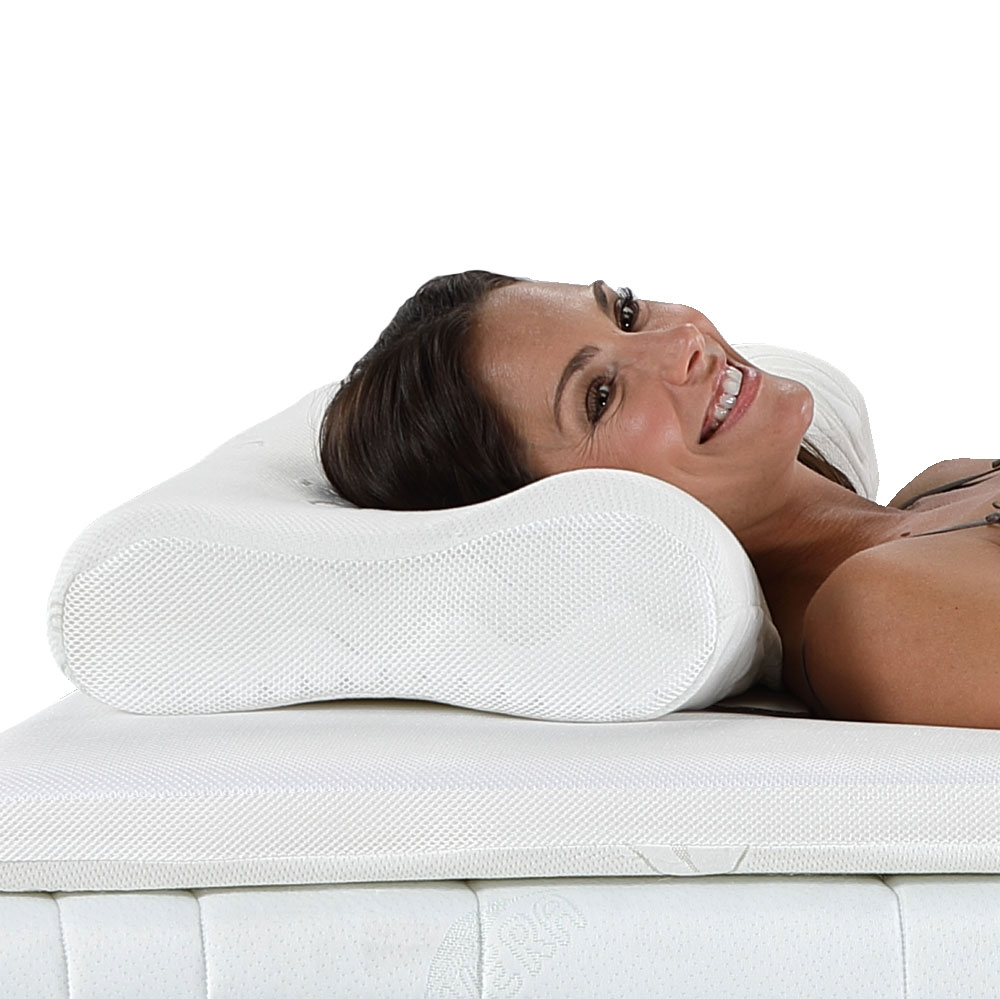 Das aktivmed Best-Schlaf-Kissen »Premium« passt sich Ihrem Kopf und Nacken ideal an und sorgt so für ein himmlisches Schlafgefühl!