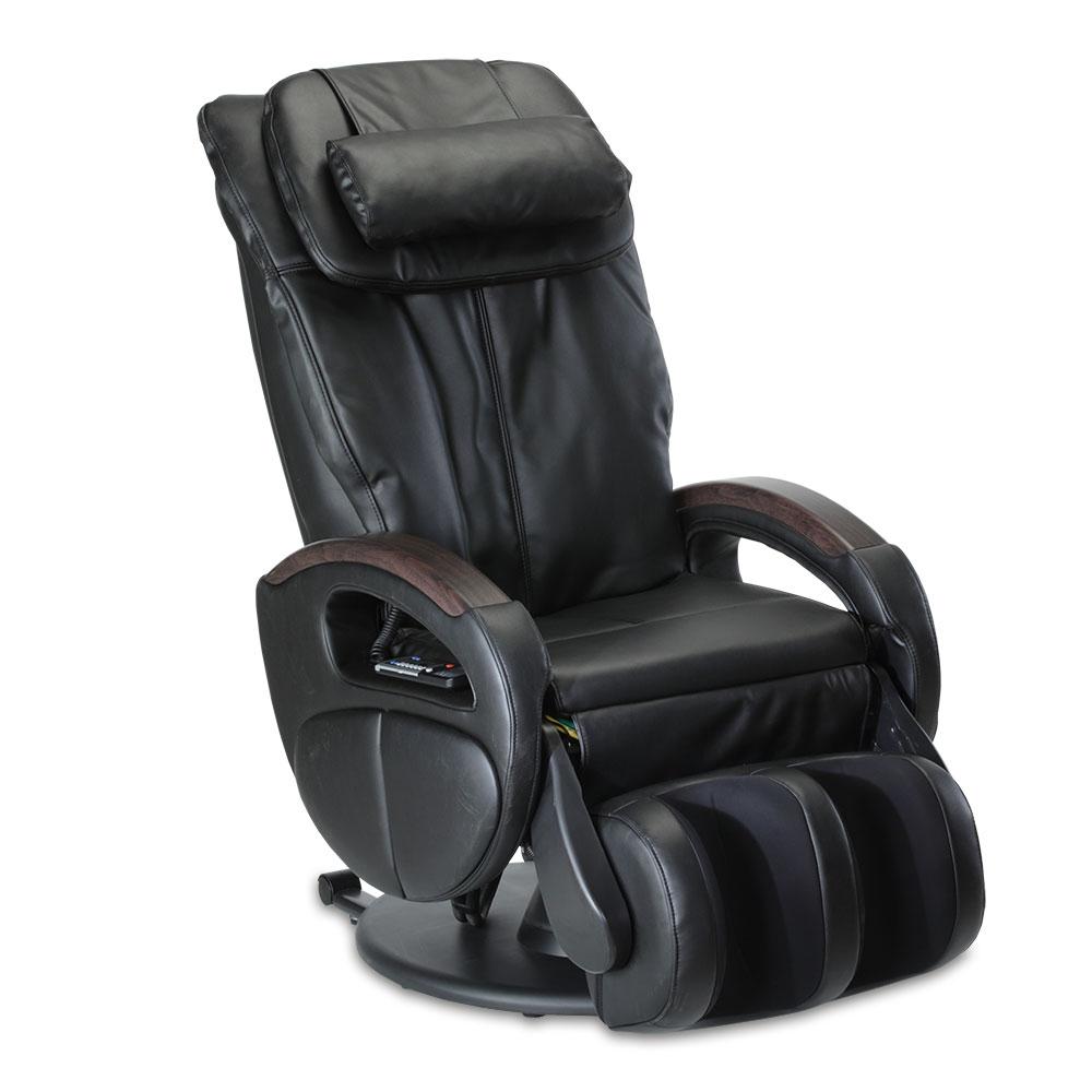 Der Massagesessel Komfort Deluxe im eleganten Schwarz.