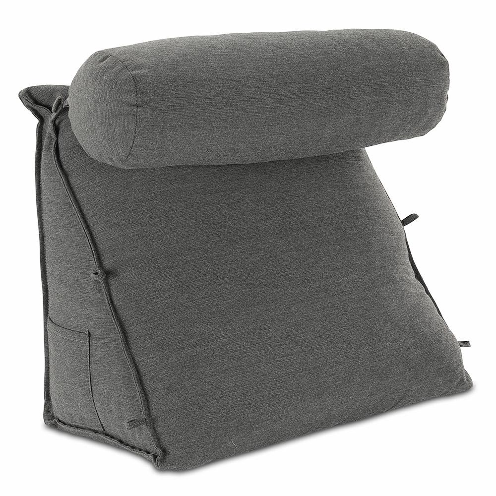 Rückenkissen mit Nackenrolle