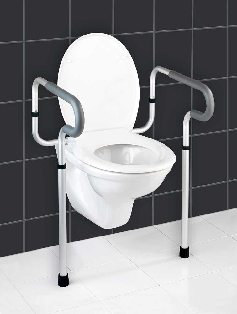 Die WC-Stützhilfe »Secura« hilft Ihnen, Ihre Selbstständigkeit zu bewahren.