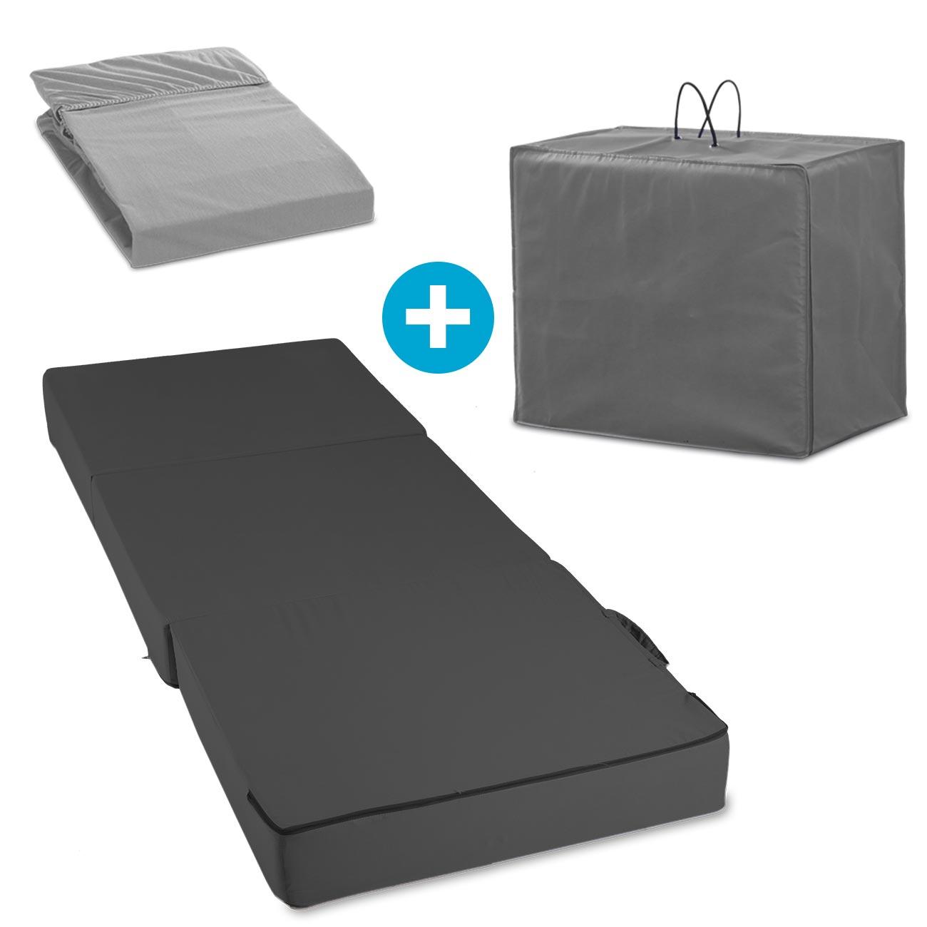 Mit dem Gästematratze Spar-Set »Visko Deluxe« erhalten Sie alles, was Sie für ein bequemes Gästebett benötigen.